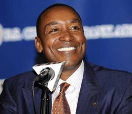 Isiah Thomas former FIU head coach